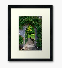 """""""When You Beckon, I Will Follow... You Need Only Lead The Way...""""   Framed Print"""