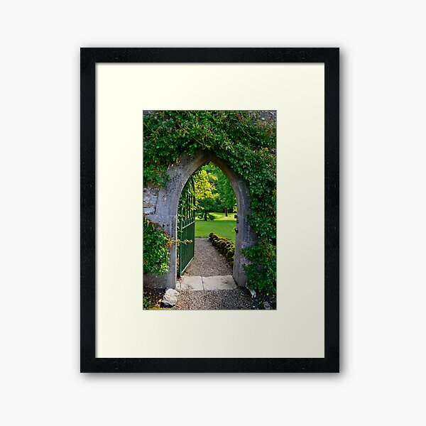 """""""When You Beckon, I Will Follow... You Need Only Lead The Way...""""   Framed Art Print"""