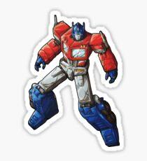 Transformers (Optimus Prime) Sticker