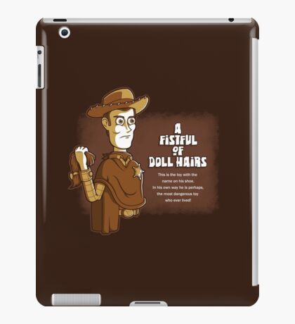 A Fistful of Doll Hairs iPad Case/Skin