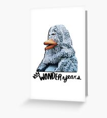 The Wonder Years Bird Greeting Card