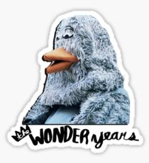 The Wonder Years Bird Sticker