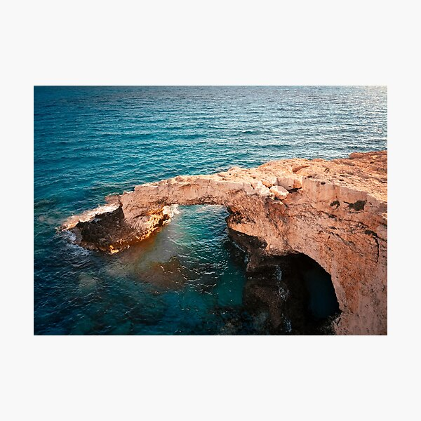 Love Bridge - Agia Napa Cyprus Photographic Print