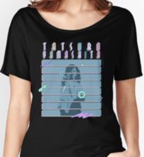 Yamashita Black Women's Relaxed Fit T-Shirt