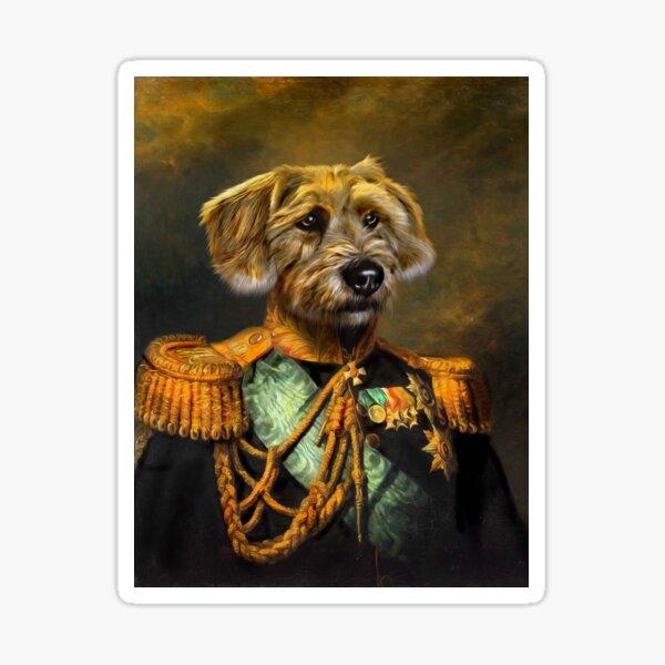 Dog Portrait - Doogle Sticker