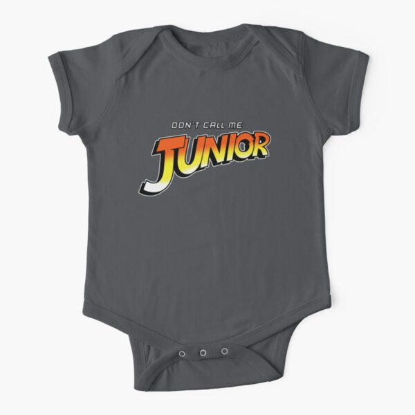 Don't Call Me Junior Short Sleeve Baby One-Piece