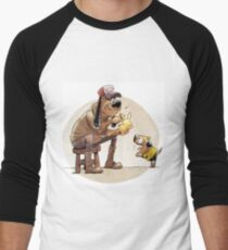 Pikachu pet Men's Baseball ¾ T-Shirt