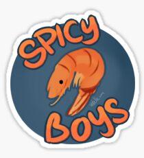 spicy boys Sticker