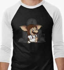 It's-a me, Gizmo! Men's Baseball ¾ T-Shirt