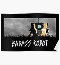 Badass Robot Poster