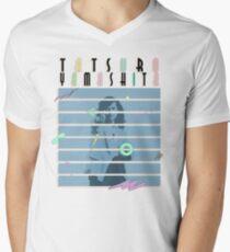 Tatsuro White Men's V-Neck T-Shirt