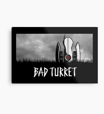 Bad Turret Metal Print