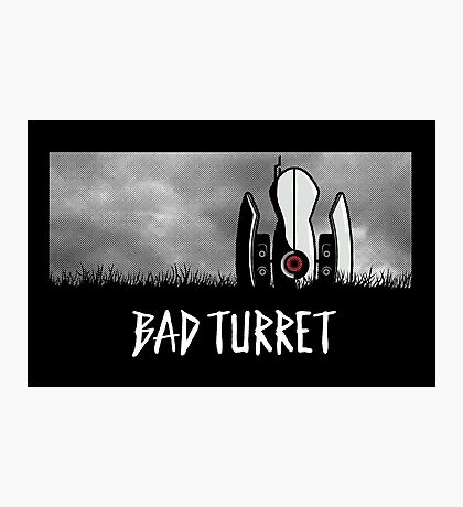 Bad Turret Photographic Print