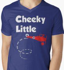 Cheeky Little Fokker Men's V-Neck T-Shirt