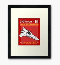 Viper Mark II Service and Repair Manual Framed Print