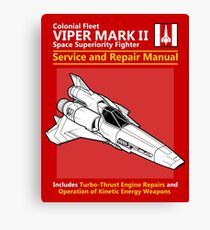 Viper Mark II Service and Repair Manual Canvas Print