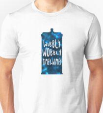 Doctor Who - Wibbly Wobbly TARDIS Unisex T-Shirt