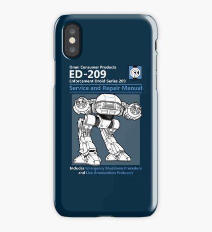 ED-209 Service and Repair Manual iPhone Case/Skin