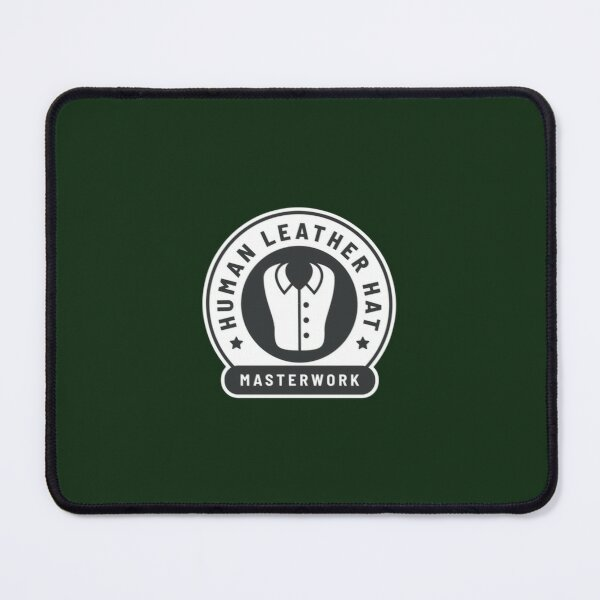 Human Leather Shirt - Rimworld Cap   Mouse Pad