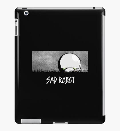 Sad Robot iPad Case/Skin