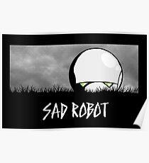 Sad Robot Poster