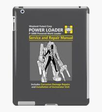Power Loader Service and Repair Manual iPad Case/Skin