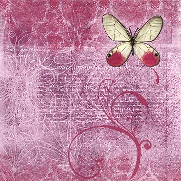 Type and Butterfly by Zehda