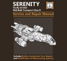 Shiny Service and Repair Manual | Unisex T-Shirt