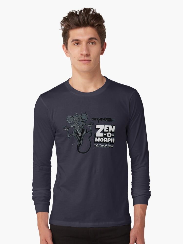 Zen-o-morph Long Sleeve T-Shirt Front