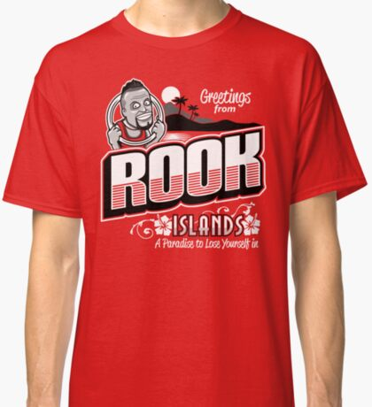 Greetings from Rook Islands Classic T-Shirt