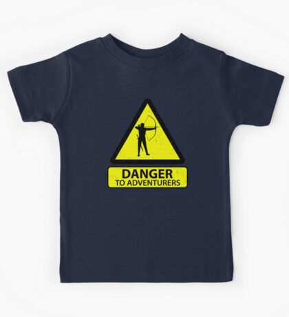 Danger to Adventurers Kids Clothes