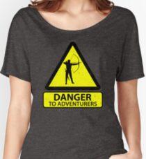 Danger to Adventurers Women's Relaxed Fit T-Shirt
