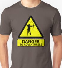 Danger to Adventurers Unisex T-Shirt