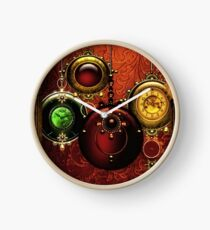 Have Yourself a Steam Punk Little Christmas Clock