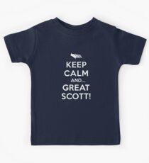 Keep Calm and... Great Scott! Kids Tee