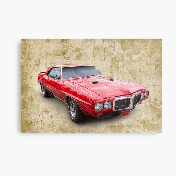 Firebird 69 Metal Print