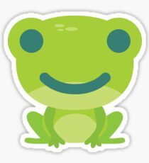 Frog Emoji Happy Smile Look Sticker