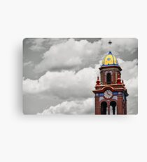 Plaza Tower Canvas Print