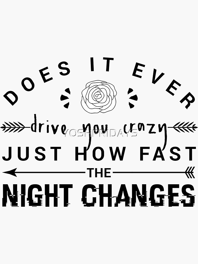 One Direction: Four - Night Changes by YOSHFRIDAYS