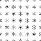 Snowflake pattern by Printpix