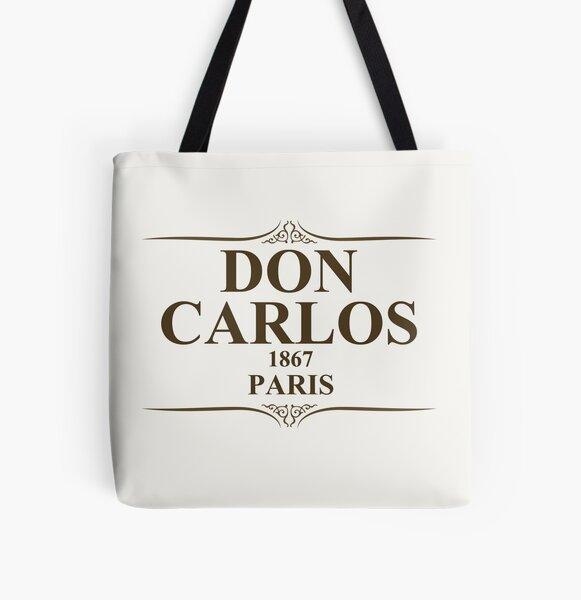 Don Carlos 1867 Paris All Over Print Tote Bag