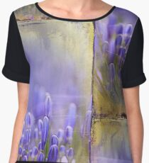 Feelin' Blue Women's Chiffon Top