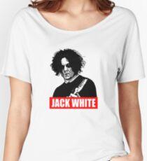 Jack weiß Loose Fit T-Shirt
