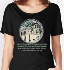Coheed and Cambria- Eraser lyrics Design Women's Relaxed Fit T-Shirt