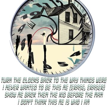 Coheed and Cambria- Eraser lyrics Design by BigBandBusiness