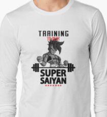 training super saiyan Long Sleeve T-Shirt