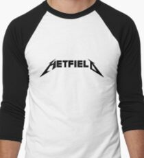 Hetfield Black Logo Men's Baseball ¾ T-Shirt