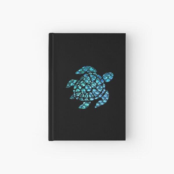 Blue Sea Turtle  Hardcover Journal