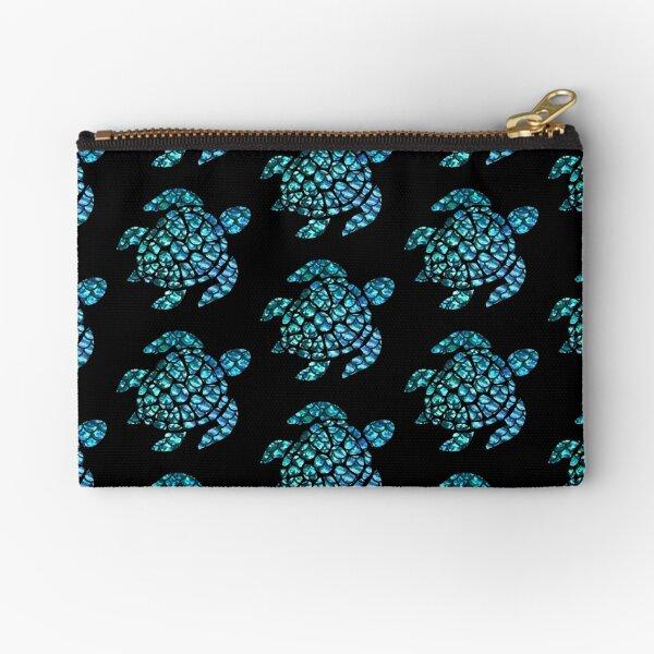 Blue Sea Turtle  Zipper Pouch