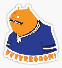 Glottis - Vvvvrrooom! Sticker